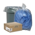 "60 Gallon, 38"" x 58"" Trash Liners, .75mil, Clear"