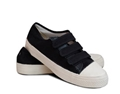 Canvas Velcro Low Top Shoe - Black or White