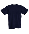 Men's Navy T-Shirts, Slightly Irregular, 100% Cotton