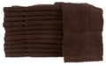 "4lbs, 20"" x 40"" Brown Bath Towel"