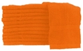 "4lbs, 20"" x 40"" Orange Bath Towel"